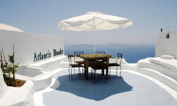 Atlantis Books, Santorini, Greqi