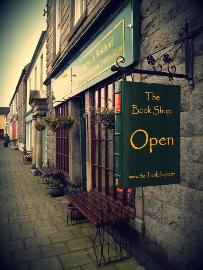 The Bookshop, Wigtown, Skoci
