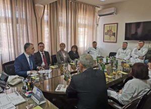 Nga vizita e Ministrit ne Ulqin